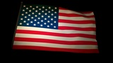 flag usa 01 Animation