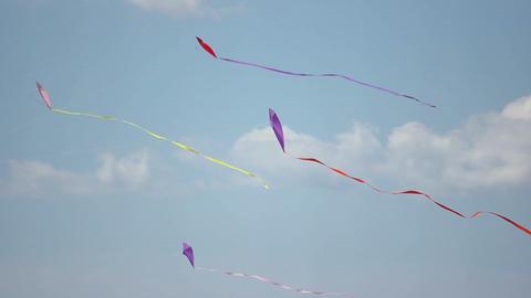 Kite 08 Stock Video Footage