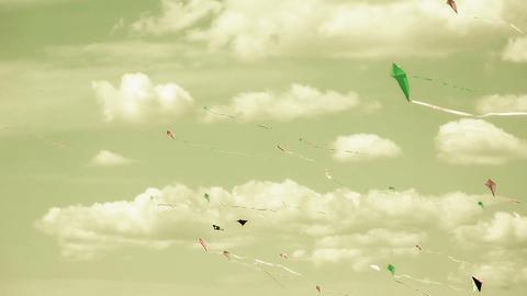 Kite 06b Stock Video Footage