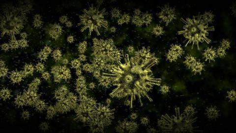 Alien virus cells Stock Video Footage