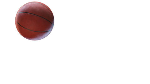 Basketball, jumping ball Stock Video Footage