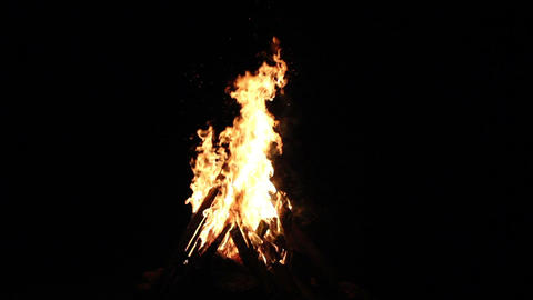 Fire 01 Stock Video Footage