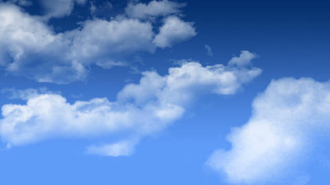 Flying Cloud Stock Video Footage