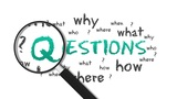 Questions stock footage