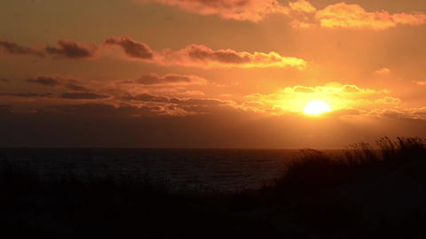 Sunset time lapse Stock Video Footage