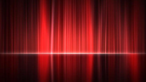 Stage Curtain 4 Ac 2 HD Stock Video Footage