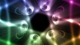 Boisterous dance of the light Animation