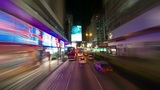 Hong Kong roads traffic, timelapse Footage