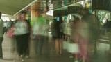 People traffic in Hong Kong, timelapse Footage