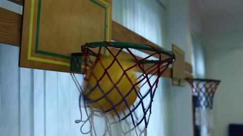 basketball basket Stock Video Footage