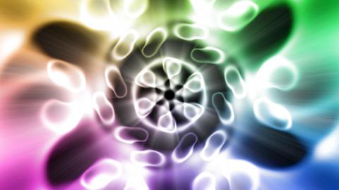 Boisterous dance of the light CG動画