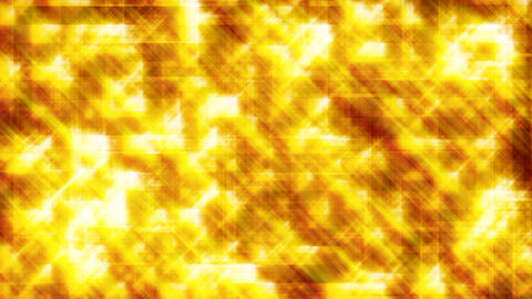 HD Looping Glitter Background - Gold Animation