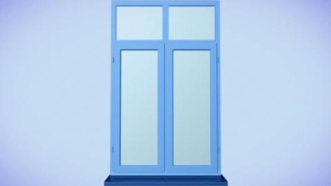 Window animation Stock Video Footage