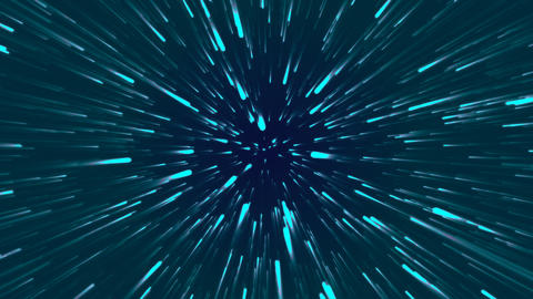 Loopable Space Animation Stock Video Footage