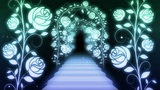 way and stairs of the rose Animation