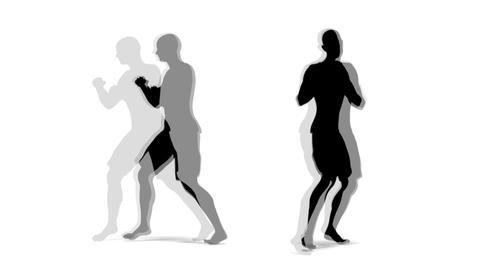 シャドーボクシング Animation