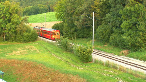 suisse train Stock Video Footage