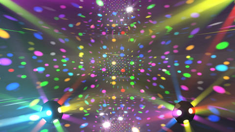 Mirror Ball 2 x 2 DL 01 HD Stock Video Footage