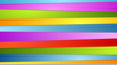 Colorful abstract stripes video animation Animation
