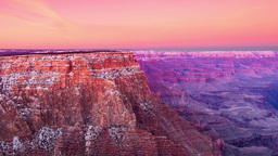 Dawn At Grand Canyon stock footage