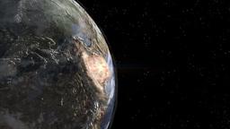Earth Nuclear Explosion Animation