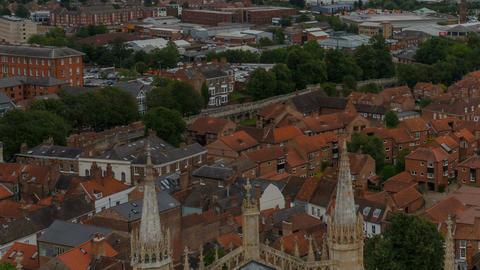 York, England, UK Footage