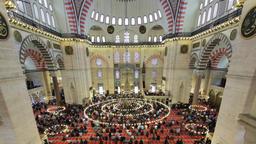 Mosque timelapse Archivo
