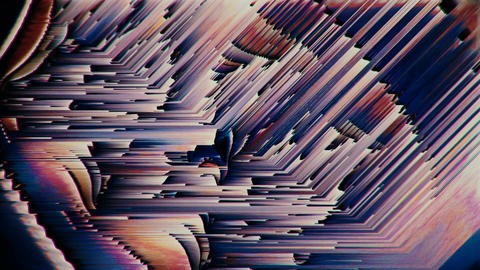 Glitch texturized multicolored twitchy looping background Animation