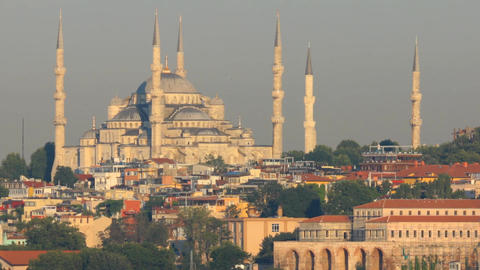 Istanbul Blue Mosque Filmmaterial