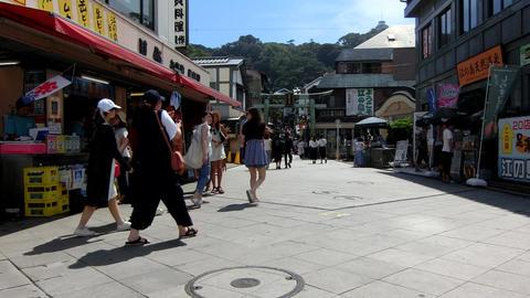 Enoshima Island,Japan Footage