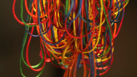 Color Ropes Footage
