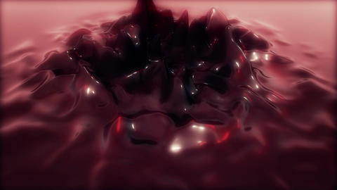 Abstract Reflective Jelly deform Animation for Intro - Fixed Cam - Rouge Animation