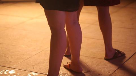 Female Sexy Legs Footage