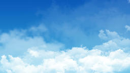Flying Clouds Background Image