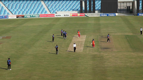 Cricket Play Stadium Footage
