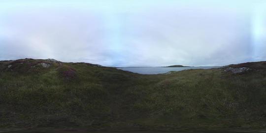 360 VR – Atlantic Ocean Panorama, Ireland VR 360° Video