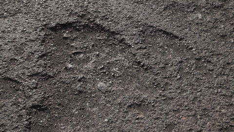 Damaged Tar Road Texture Live Action