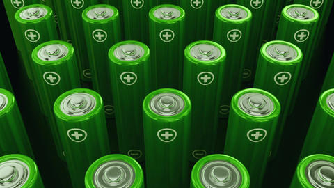 Battery rows movement (loop animation) Animation