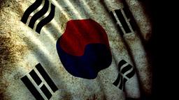 Korea Flag Animation