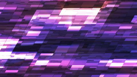 Twinkling Horizontal Slant Hi-Tech Small Bars, Purple, Abstract, Loopable, 4K CG動画素材