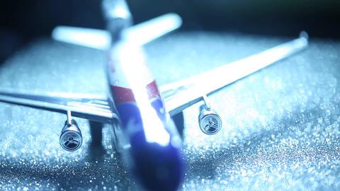 Flight at Air port Footage