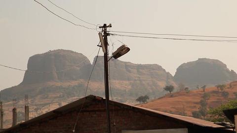 Rural village house Image
