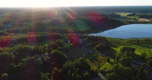 Medieval church, Cinema 4k aerial view around pyhan katarinan kirkko church, on Live Action