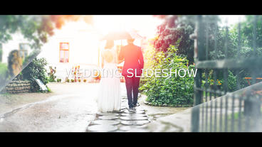 4k Wedding Slideshow After Effects Template