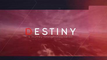 Destiny Plantilla de After Effects