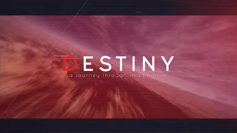 Destiny After Effects Template