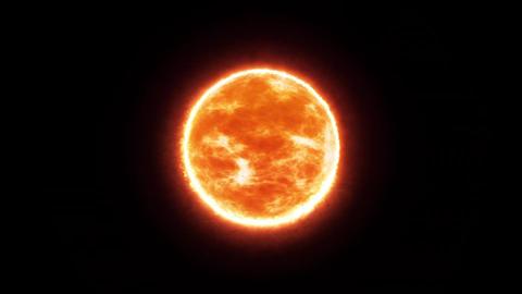 The Sun CG動画素材