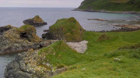 Fair Head, Torr Head, Northern Ireland - Graded Version Live Action