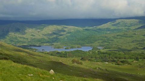 Gap Of Dunloe, Black Valley, County Kerry, Ireland - Graded Version Footage