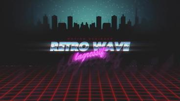 Retro City Intro Plantilla de After Effects